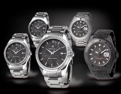 ルノータスの腕時計のメテオライトの画像