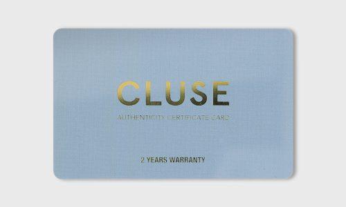 クルースの腕時計の正規品証明書の画像