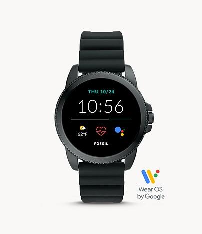 フォッシルの腕時計スマートウォッチの画像