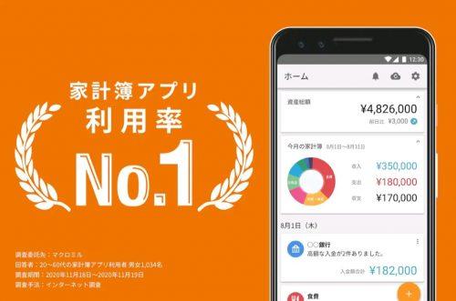 マネーフォワードMEアプリの画像