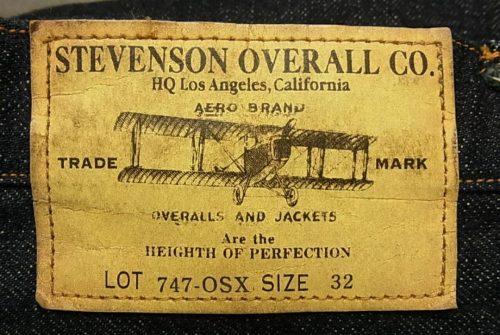 Stevenson Overallのパッチ画像