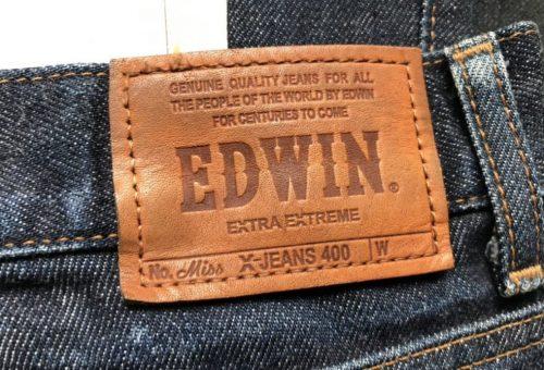 EDWINのパッチ画像