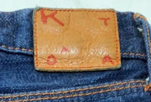 KATO`デニムのパッチ画像