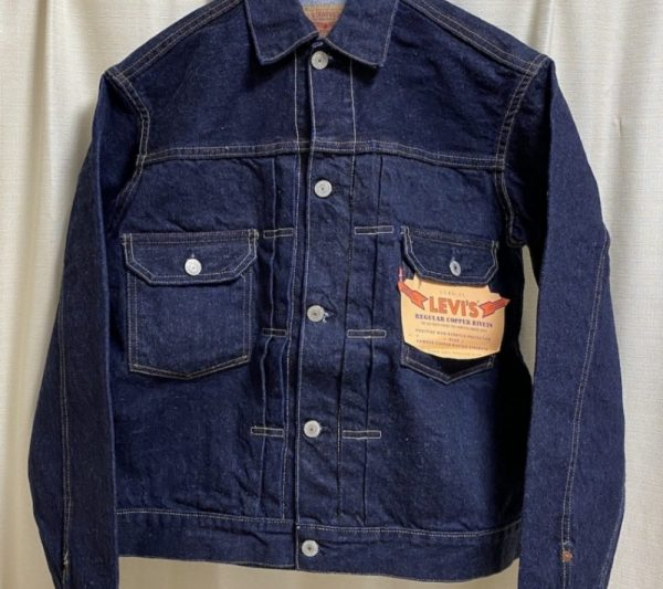 デニムジャケットセカンドモデルの画像